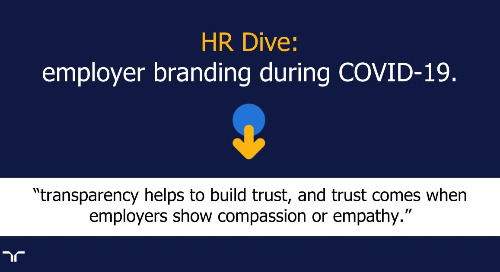 HR Dive: employer branding during COVID-19.