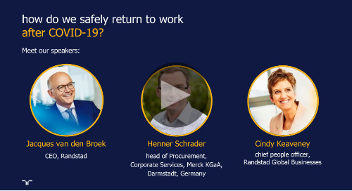 safely returning to work after COVID-19 | session 2 | talent continuity learning series