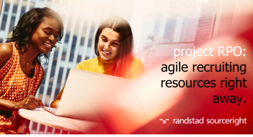 project RPO: agile recruiting resources right away.