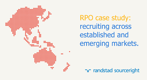 RPO case study: 5000 hires, 11 countries and 120 distinct role types.