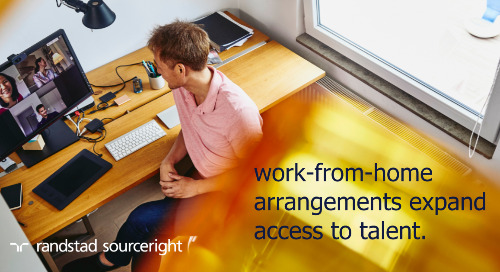 the global talent supply chain evolves as  work-from-home arrangements grow.