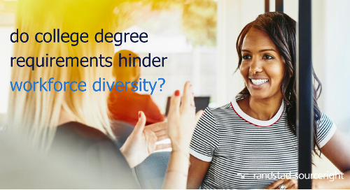 SHRM: college degree requirements hinder Black workers' earnings, career advancement.