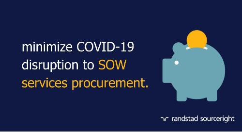 Spend Matters: minimize COVID-19 disruption to SOW services procurement.