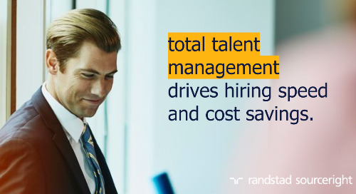 total talent case study: transform hiring, gain talent insights and drive cost savings.