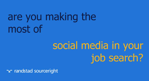 4 ways to make the most of social media in your job search.