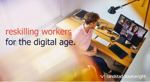 Fast Company: reskilling workers now more urgent than ever.