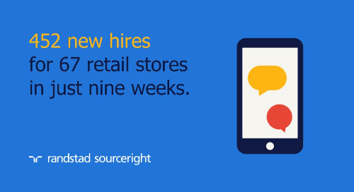 RPO case study: high-volume retail hiring at speed during the COVID-19 pandemic.