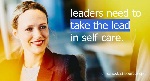 Thrive Global: leaders must take the lead on self-care.