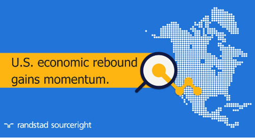 Hunt Scanlon: US economic rebound gains momentum in March.