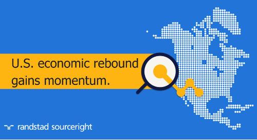 Hunt Scanlon: US economic rebound gains momentum in March.
