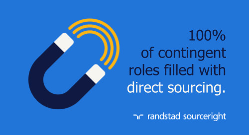 MSP case study: direct sourcing and talent marketing deliver rapid access to contingent talent.