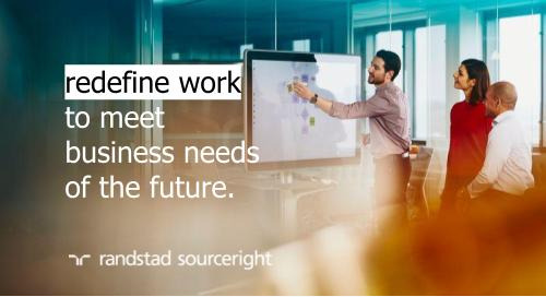 Randstad Sourceright to host webinar with PwC UK about achieving workforce agility in today's hard-to-predict environment.