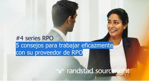 #4 cinco consejos para trabajar eficazmente con su proveedor de RPO | serie RPO