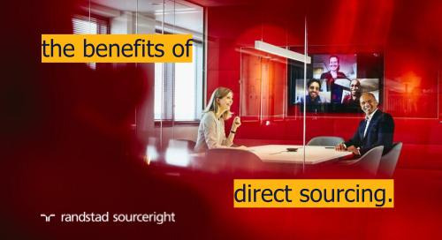 SIA: direct sourcing leverages your brand to engage talent.