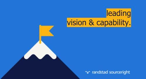 Randstad Sourceright named a Leader in Everest Group's CWM/MSP PEAK Matrix® 2021.