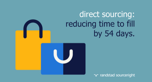 direct sourcing case study: strategic workforce planning reduces time to fill for retail roles.