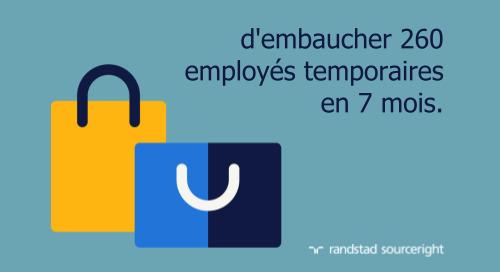 étude de cas sur la dotation de personnel directe: la planification stratégique de la main-d'œuvre réduit le délai de recrutement.