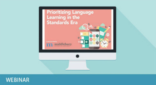 Prioritizing Language Acquisition in the Standards Era