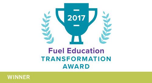 2017 Fuel Education Transformation Award Winners
