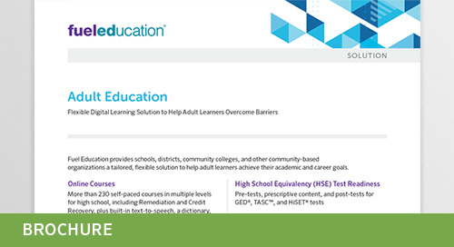 Adult Education Flyer