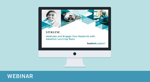 On-Demand Webinar: Motivate and Engage Your Students with Adaptive Learning Tools