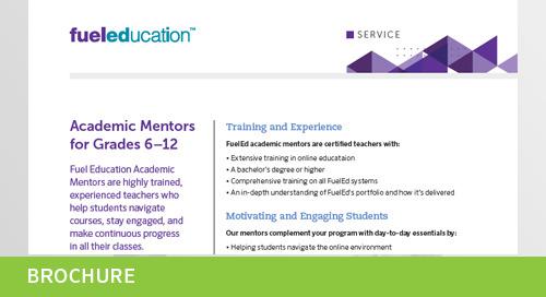 Academic Mentors Services Flyer