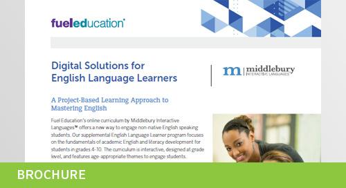ELL Curriculum Overview Flyer