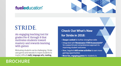 Stride's Adaptive Learning Technology- Flyer