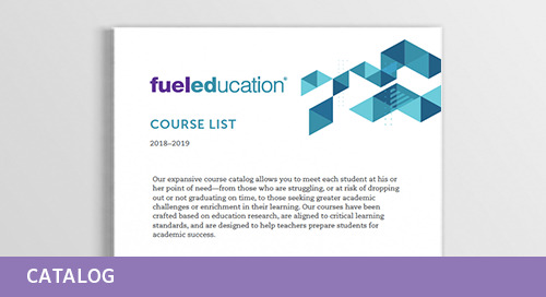 Fuel Education's 2018-2019 Course List