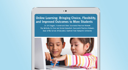 Online Learning Brings More Flexibility to Students