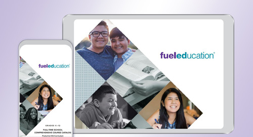 Full-Time Online School Comprehensive Course Catalog Featuring K12 Curriculum 2017-2018