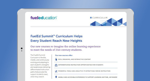 Next-Generation Online Curriculum Brochure