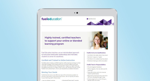 Instructional Services Brochure