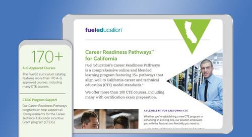 California Career Readiness Pathways Brochure