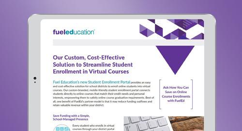 Student Enrollment Portal Brochure