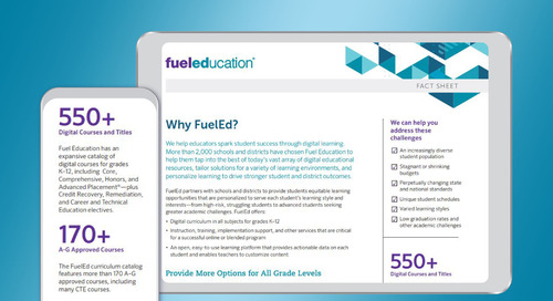 Why FuelEd Brochure