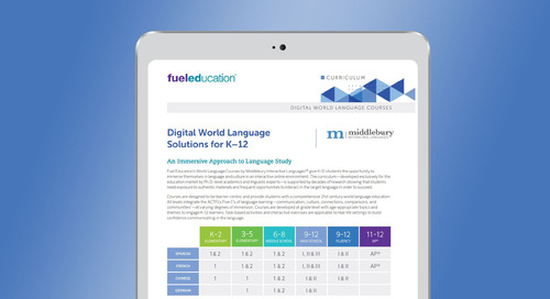 Digital World Languages Solution Brochure