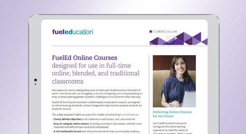 FuelEd Online Courses Brochure