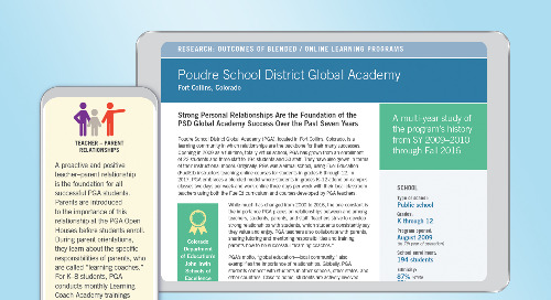 PGA Multi-Year Case Study
