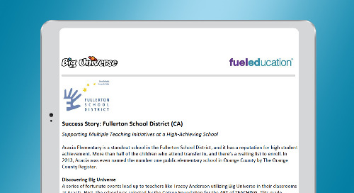 Fullerton School District Success Story