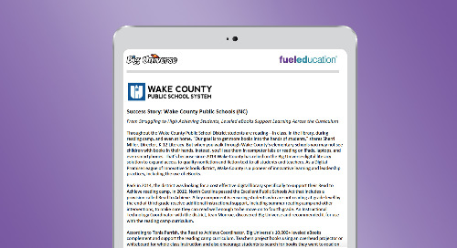 Wake County Public Schools Success Story