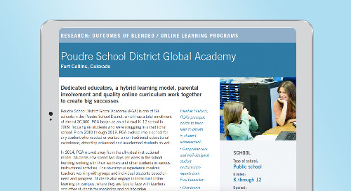 Poudre School District Global Academy Case Study