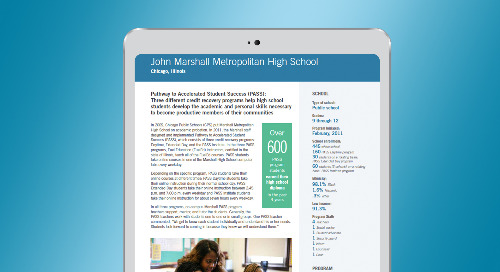 John Marshall Metropolitan High School Chicago, IL