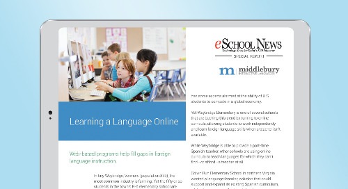 Special Report—Learning a LanguageOnline