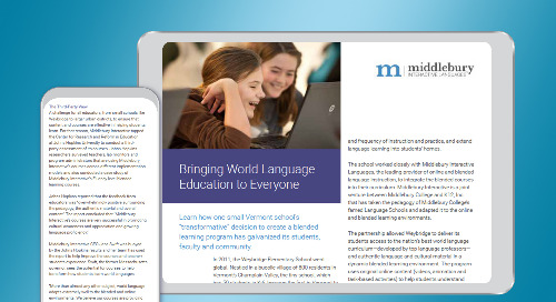 Bringing World Language Education to Everyone