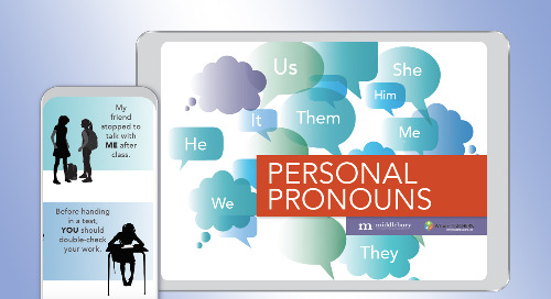 Personal Pronouns—A Poster for ELLs