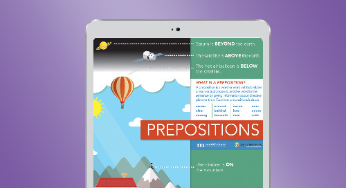 Prepositions—A Poster for ELLs