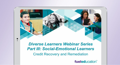 Webinar: Diverse Learners Webinar Series Part 3: Social Emotional Learning