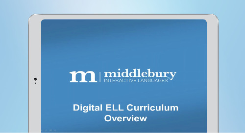 Digital English Language Learning Solution