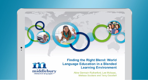 World Language Education in a Blended Learning Program